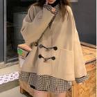 Duffle Coat / Plaid Shirt