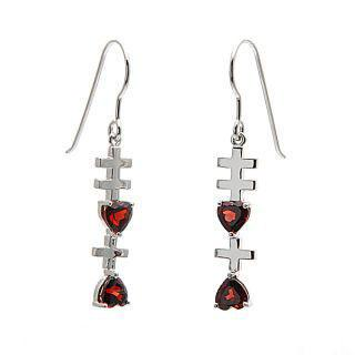 Garnet Xixi Earrings