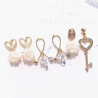 Alloy Dangle Earring (various Design)