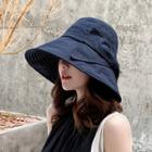 Stitched Trim Sun Hat