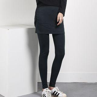 Leggings Inset Skirt