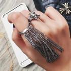Star Ring / Fringed Ring
