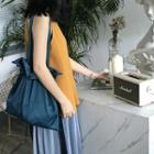 Ribbon Drawstring Shoulder Bag