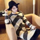 Two Tone Knit Dress