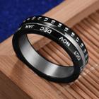 Time Metal Ring
