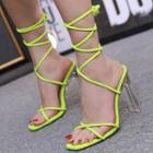 Strappy High Heel Gladiator Sandals
