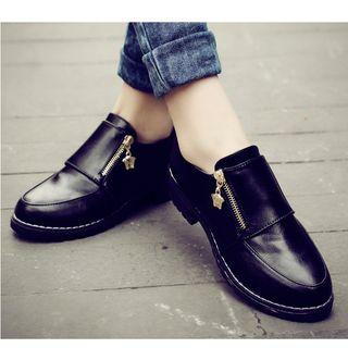 Zip Oxfords