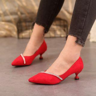Pointed Pumps High-hee