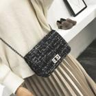 Wool Mini Shoulder Bag