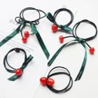 Cherry Layered Hair Tie / Set
