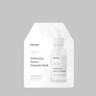 Manyo - Whitening Source Ampoule Mask 1 Pc