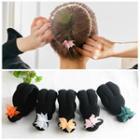 Floral Hair Bun Maker