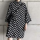 Oversized Dotted Shirt