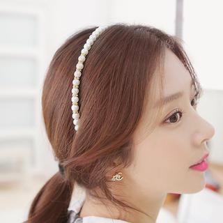 Faux-pearl Headband