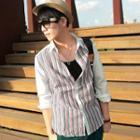 Striped Panel Shirt
