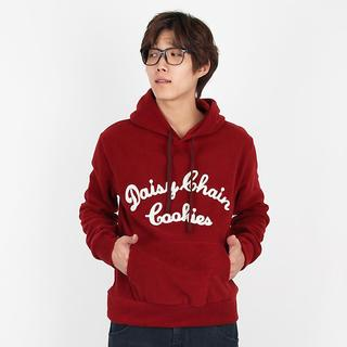 Lettering Hooded Pullover