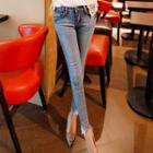 Rhinestone Skinny Jeans