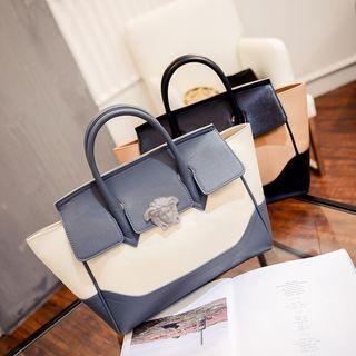 Color Panel Handbag