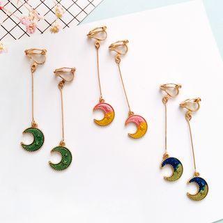 Moon Earring / Clip-on Earring