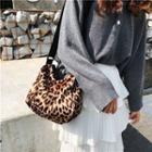 Leopard Nylon Crossbody Bag