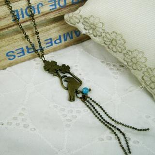 Vintage Parrot Necklace