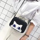 Cat-print Shoulder Bag