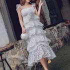 Layered Lace Maxi Dress