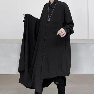 Long Shirt Black - One Size