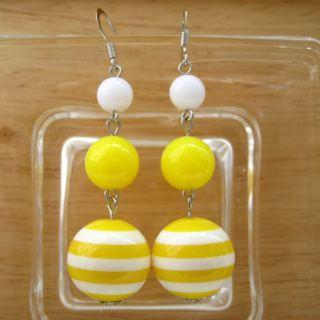 Yellow Sailing Earrings