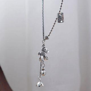 Stainless Steel Horse Pendant Necklace As Shown In Figure - One Size