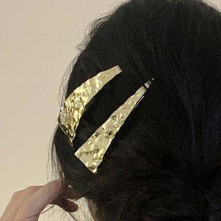 Triangle Alloy Hair Clip