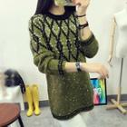 Patterned Thick Sweater