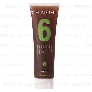 Of Cosmetics - Styling Gel Of Hair 6 (bergamot Scent) 140g