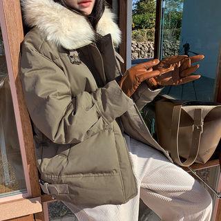 Fleece Lined Cowhide Gloves
