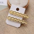 Alloy Hair Clip Gold - One Size
