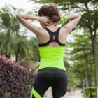 Sports Plain Yoga Tank Top