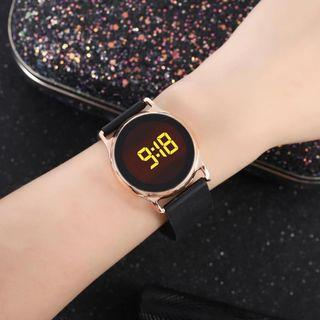 Led Digital Strap Watch