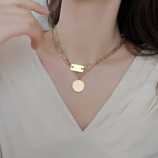 Layered Necklace Layered Necklace - Gold - One Size