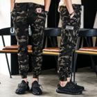 Cropped Camouflage Pants