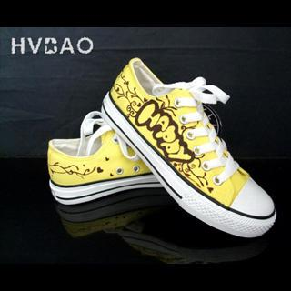Hvbao Happy Canvas Sneakers