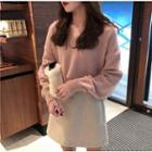 Plain Sweater Pink - One Size