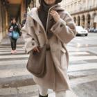Hooded Long Toggle Coat