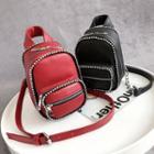 Bead-trim Mini Backpack
