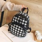 Checked Lightweight Backpack