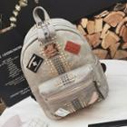 Patch Embroidered Studded Backpack