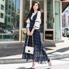 Floral Maxi Jumper Dress