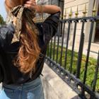 Python Hair Tie & Scrunchy Set Brown - One Size