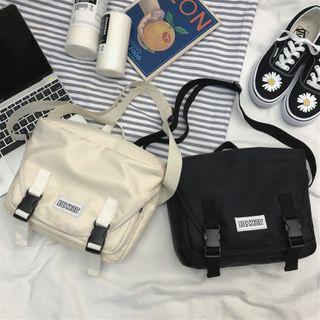 Couple Matching Buckled Messenger Bag