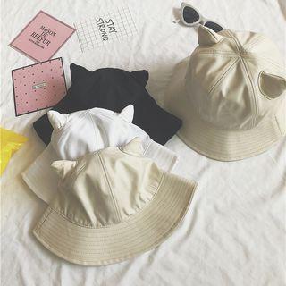 Cat Ear Buckle Hat