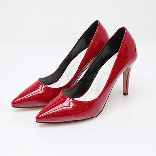 Colored Patent Pointy Stilettos